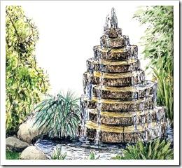 fontan pyramidka