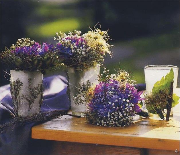 Ваза с сухоцветами своими руками