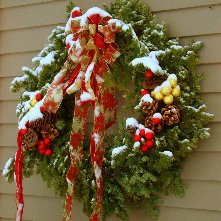 Новогодний венок : Для дачи и дома
