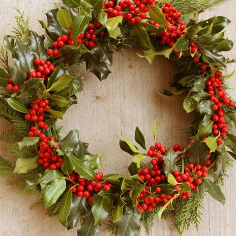 Новогодний венок : Для дачи и дома ...: handmade.cveti-sadi.ru/novogodnij-venok-iz-elovyx-vetok